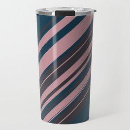 Rose stripes Travel Mug