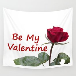 Be My Valentine Wall Tapestry