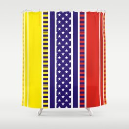 """Venezuela Chévere"" Shower Curtain"