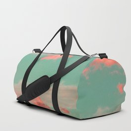 Pink clouds Duffle Bag