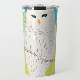Blanche chouette Travel Mug