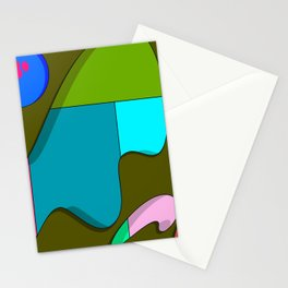 Angry man Stationery Cards