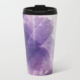 Amethyst gemstone Travel Mug