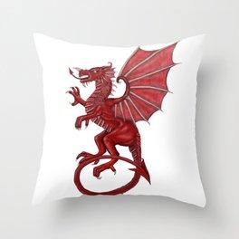 Cymru am byth Throw Pillow