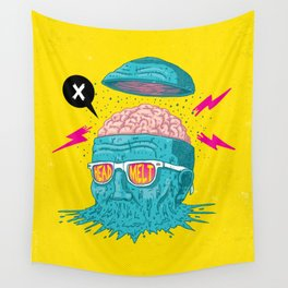 Head Melt Wall Tapestry