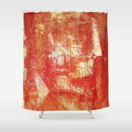 Fragmentary Man Shower Curtain