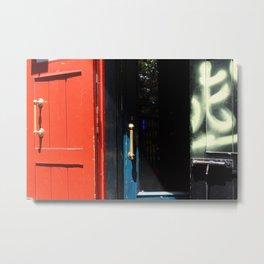 Puertas Metal Print
