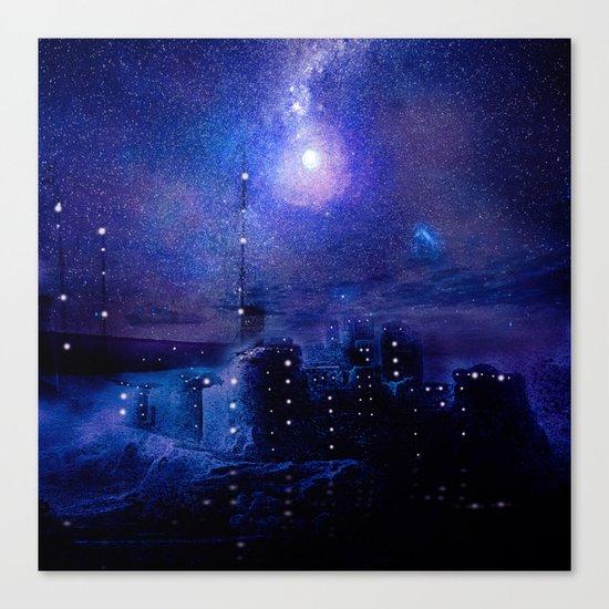 City of lights Canvas Print