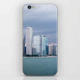 Chicago Skyline Pictures from Michigan Lake iPhone Skin