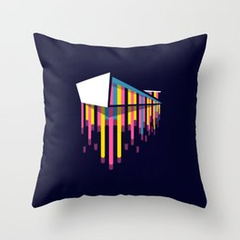 Norway - the path of the trolls Throw Pillow