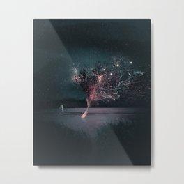 Disintegrate Metal Print