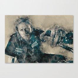 Jax Teller, Sons of Anarchy Canvas Print