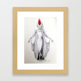 Crane Wife Framed Art Print