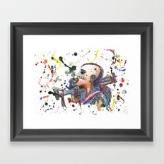 Tank Girl Framed Art Print