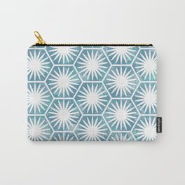 Watercolor daisy Carry-All Pouch