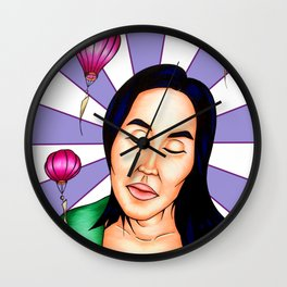 Dreaming in the Breeze in Hoi An, Vietnam Wall Clock