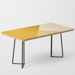 Mustard Tones Coffee Table