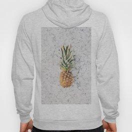 Pineapple Marble Background Hoody