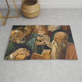 Albrecht Dürer - Jesus among the Doctors Rug