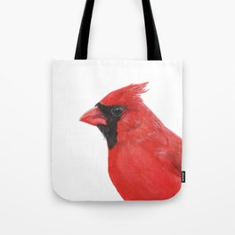 Northern Cardinal portrait Tote Bag