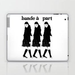BAND A PART - ANNA KARINA / JEAN LUC GODARD- NOUVELLE VAGUE Laptop & iPad Skin