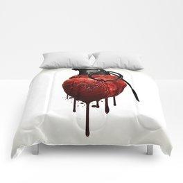 Heart Grenade Comforters