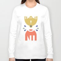 robots Long Sleeve T-shirts featuring Robots by Ulo design