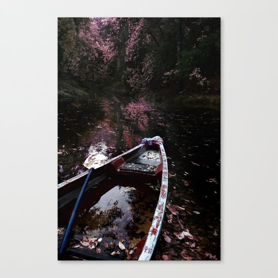 Weed Farmers Canoe Canvas Print