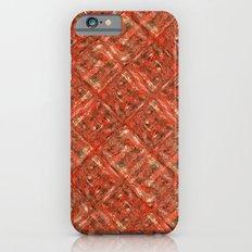 RedSquaresDiag iPhone 6s Slim Case