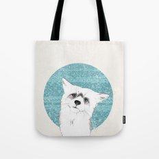 Waiting fox Tote Bag