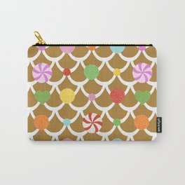 Gingerbread House Roof Carry-All Pouch