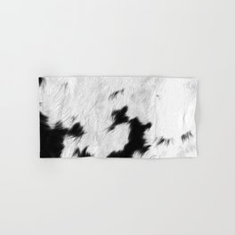 Spotted Cowhide Hand & Bath Towel