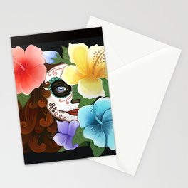 Day of the Hibiscus Stationery Cards