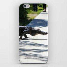 Carolina Gator Crossing 1 iPhone Skin