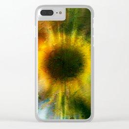 Digitalart : In helianthus Clear iPhone Case
