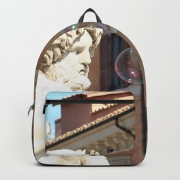 Bernini's Four Rivers Fountain Backpack