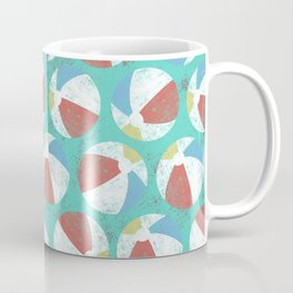 Beach Balls Retro Coffee Mug