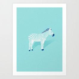 Animal Kingdom: Zebra II Art Print