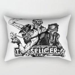 Rapture's Emblems : The Splicers Rectangular Pillow