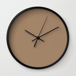 Light Brown  Wall Clock