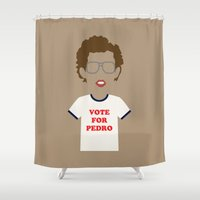 napoleon Shower Curtains featuring napoleon dynamite by Live It Up