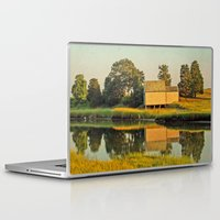cape cod Laptop & iPad Skins featuring Cape Cod Eastham Eventide by Brooke Ryan Photography