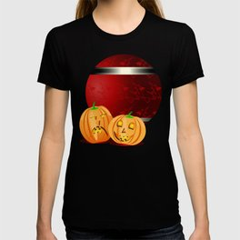 Pumpkins and spooky witches T-shirt