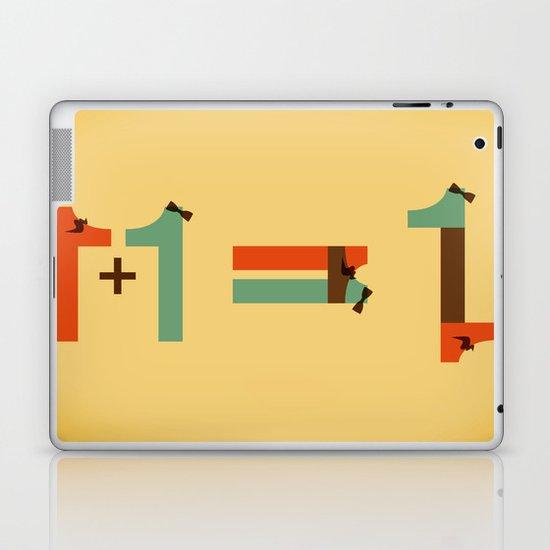 1 plus 1 Laptop & iPad Skin