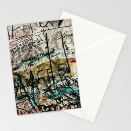 Berlin Wall Graffiti Stationery Cards