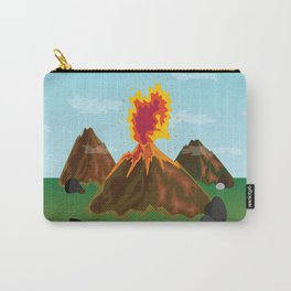 Hot Volcanos Carry-All Pouch
