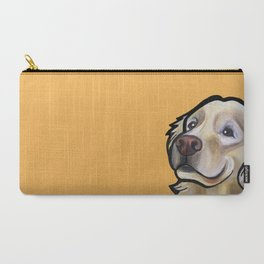 George the golden retriever (orange) Carry-All Pouch