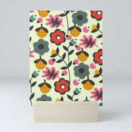 Floral sweetness Mini Art Print
