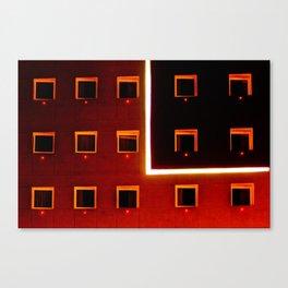 Luz y color - Hotel Canvas Print