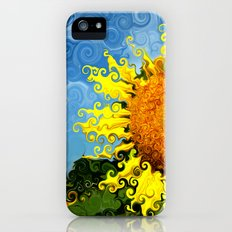 The Day of the Sunflower iPhone (5, 5s) Slim Case